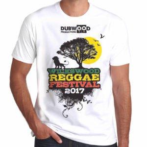 Wilkswood Reggae Festival T-Shirt WHITE