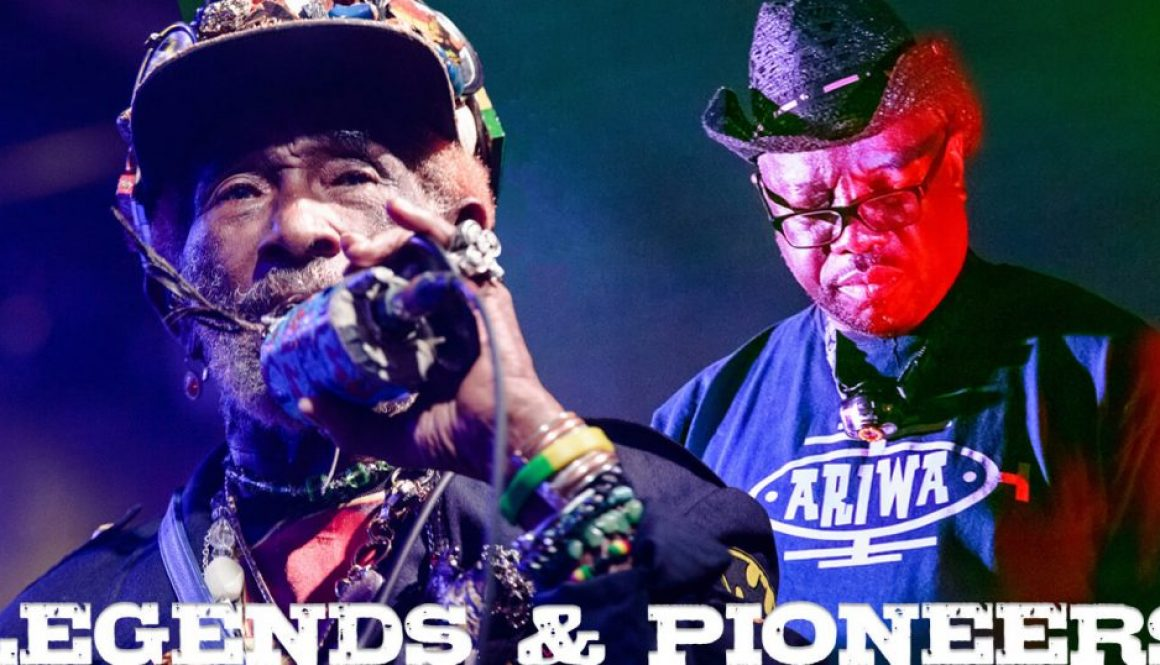 Lee Scratch Perry & Mad Professor headline Wilkswood Reggae 2018