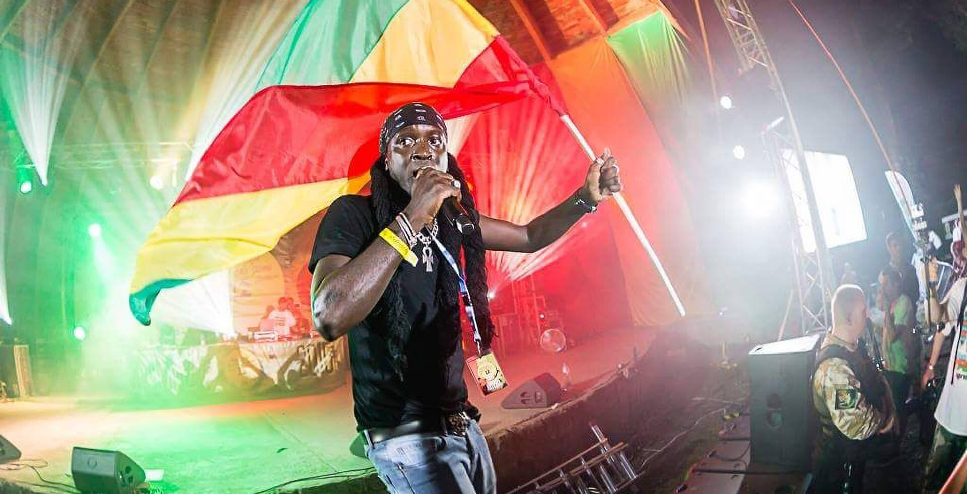 Blackout JA at Wilkswood Reggae Festival 2018