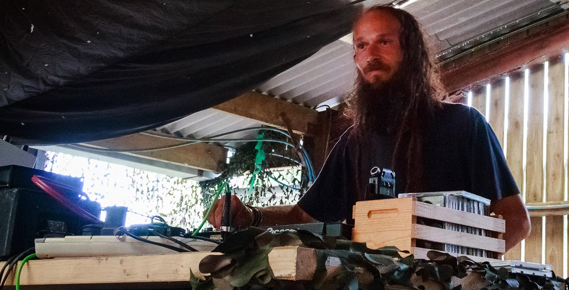 Green Lion at Wilkswood Reggae 2018