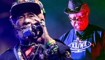 Lee Scratch Perry & Mad Professor at Wilkswood Reggae 2018