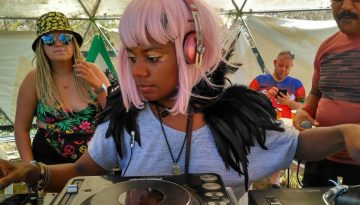 DJ Sherrine at Wilkswood Reggae 2018