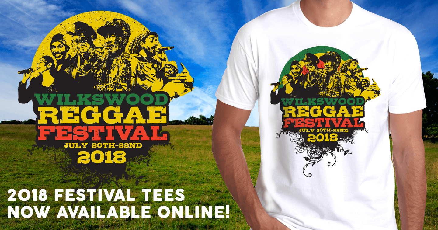 Wilkswood Reggae 2018 Official Festival T-Shirts