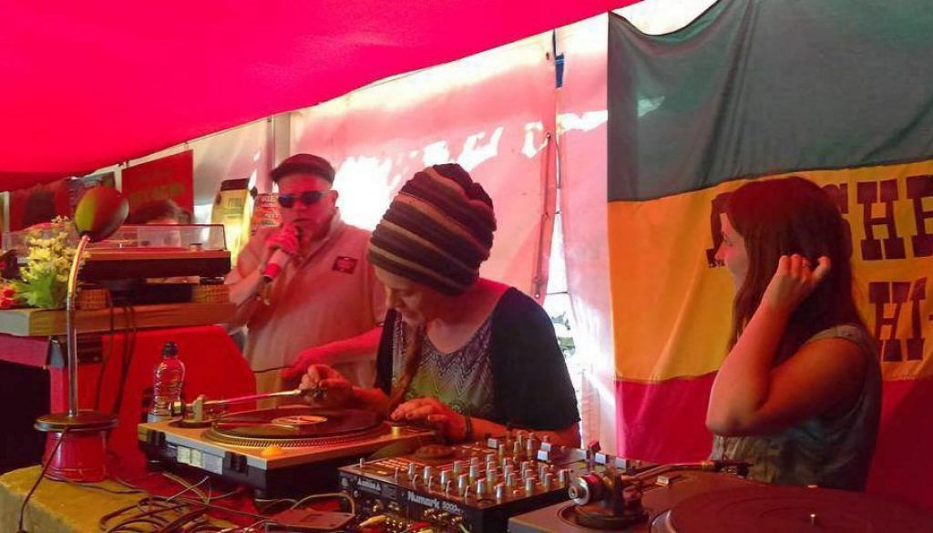 Sista Emma at Wilkswood Reggae 2018