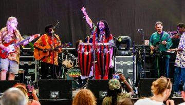 Afro Tallawah at Wilkswood Reggae 2018