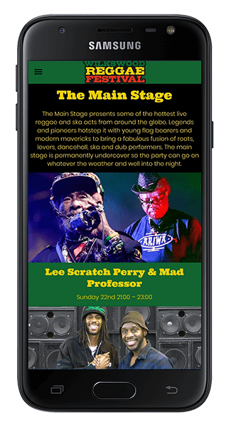 Wilkswood Roots Reggae App
