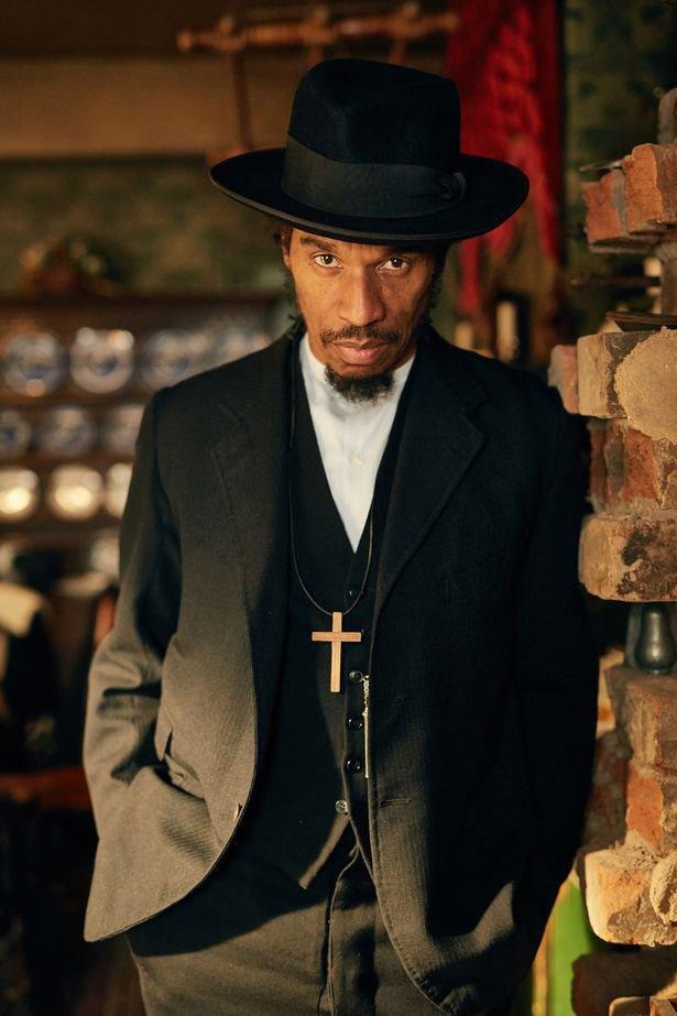 Benjamin Zephaniah in Peaky Blinders