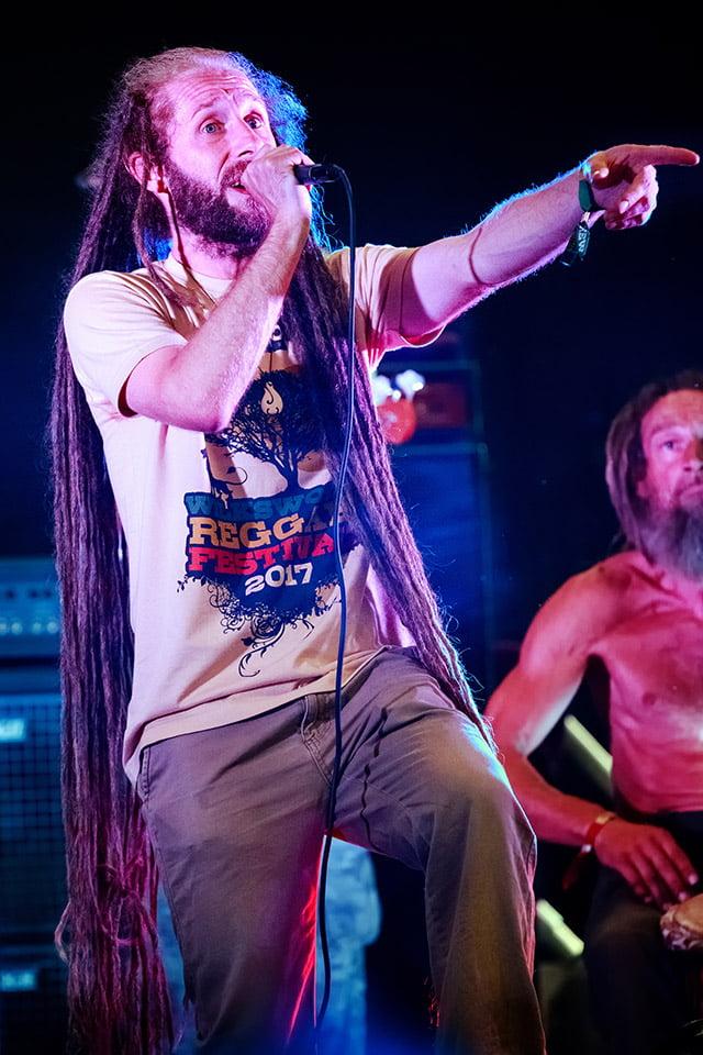 Duheart's lead singer Tenja Steven