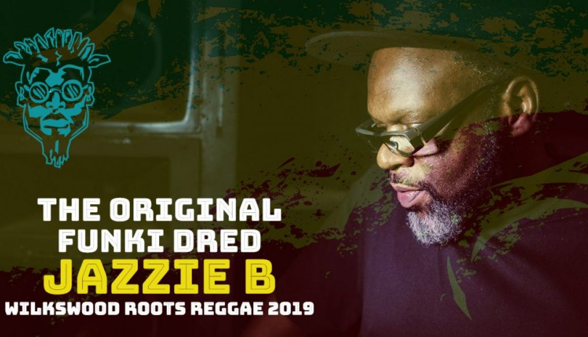 Jazzie B at Wilkswood Roots Reggae 2019