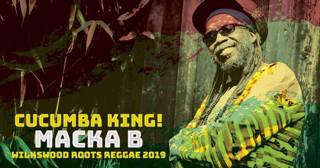 Macka B at Wilkswood Roots Reggae 2019