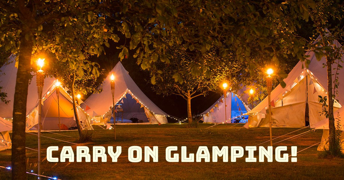 Glamping at Wilkswood Roots Reggae 2019