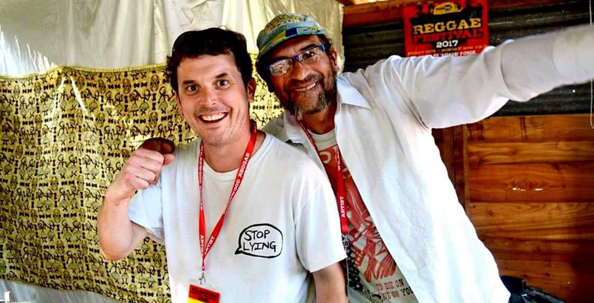 Reggae Recipes at Wilkswood Roots Reggae Festival