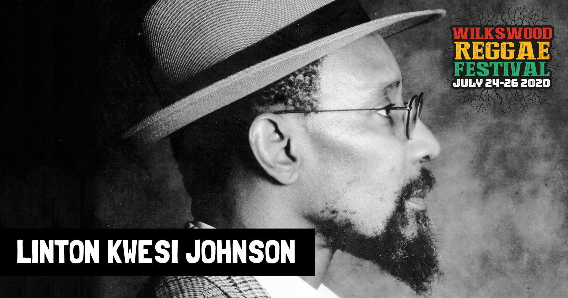 Linton Kwesi Johnson at Wilkswood Reggae 2020