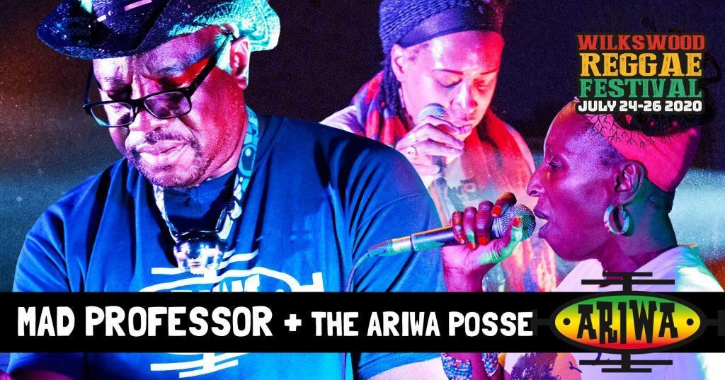 Mad Professor + the Ariwa Posse at Wilkswood Reggae 2020