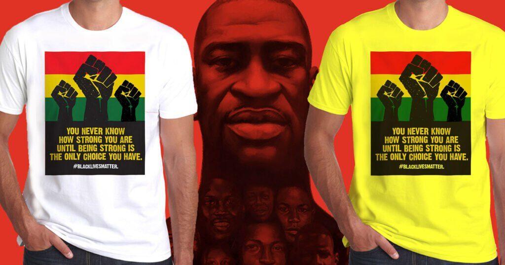 Wilkswood Reggae Festival Black Lives Matter T-Shirts