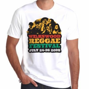 Wilkswood Reggae Festival 2020 Official Logo T-Shirt - White