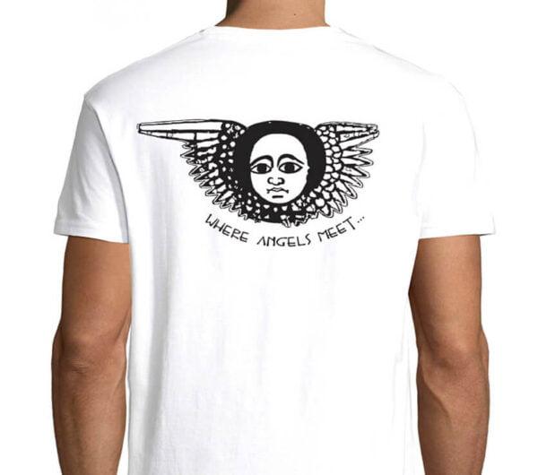 Wilkswood Reggae Festival 2021 Official Logo T-Shirt - White Reverse