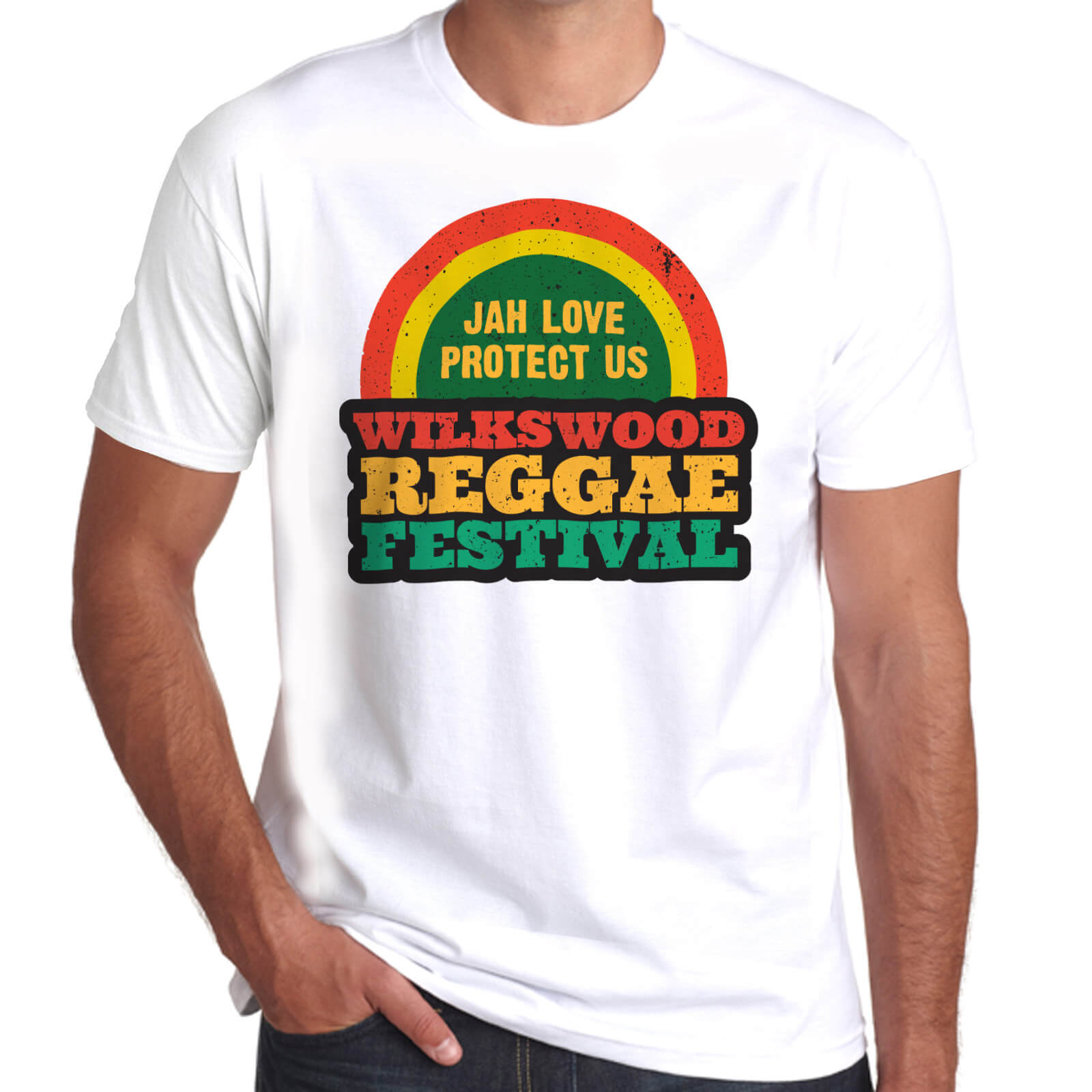Wilkswood Reggae Festival 2020 Official T-Shirt - White