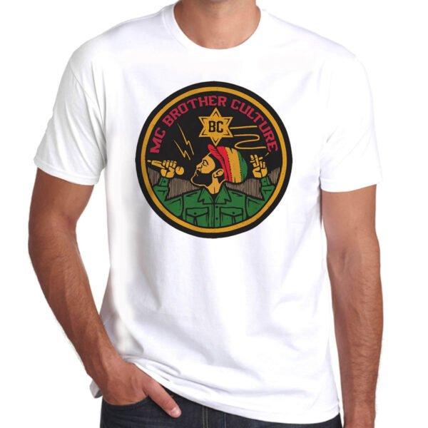 Wilkswood Reggae Festival   Brother Culture T-Shirt   White