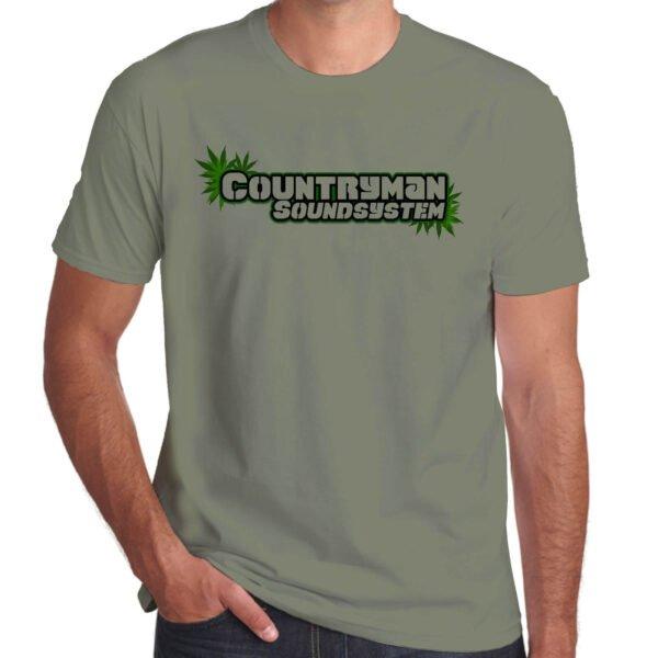 Wilkswood Reggae Festival   Countryman Sound System T-Shirt   Khaki