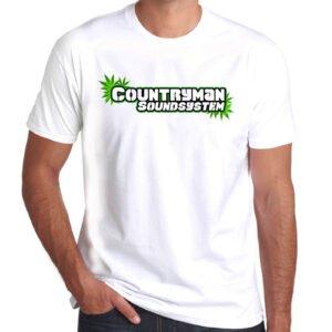 Wilkswood Reggae Festival | Countryman Sound System T-Shirt | White