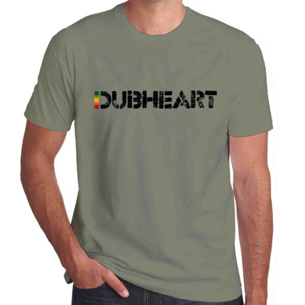Wilkswood Reggae Festival | Dubheart Logo T-Shirt | Khaki