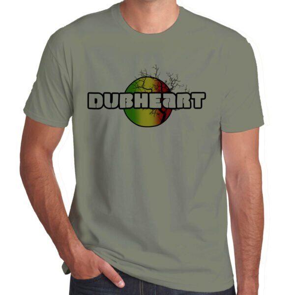 Wilkswood Reggae Festival | Dubheart T-Shirt | Khaki