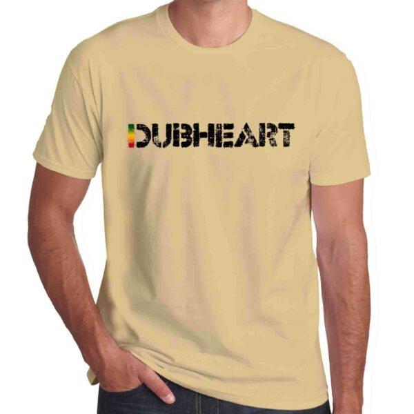 Wilkswood Reggae Festival | Dubheart Logo T-Shirt | Sand