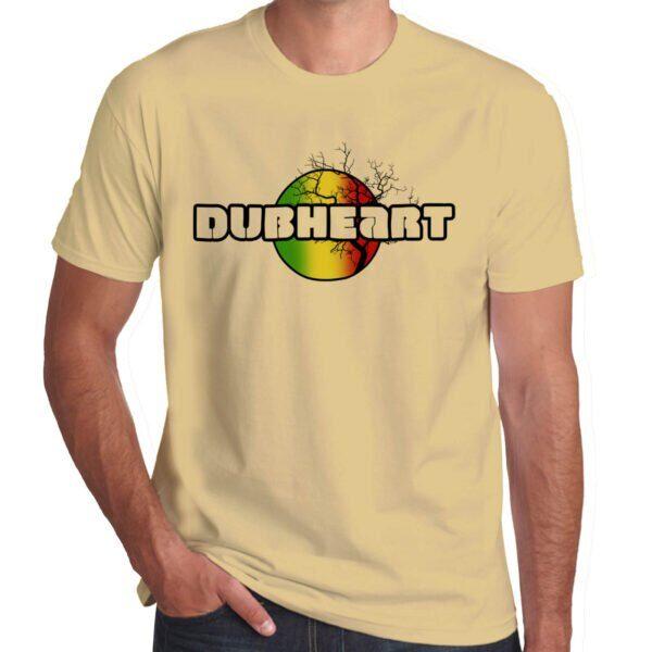 Wilkswood Reggae Festival | Dubheart T-Shirt | Sand