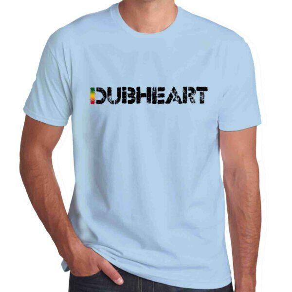 Wilkswood Reggae Festival | Dubheart Logo T-Shirt | Sky Blue