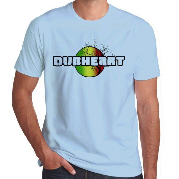 Wilkswood Reggae Festival | Dubheart T-Shirt | Sky Blue