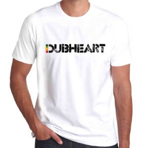Wilkswood Reggae Festival | Dubheart Logo T-Shirt | White