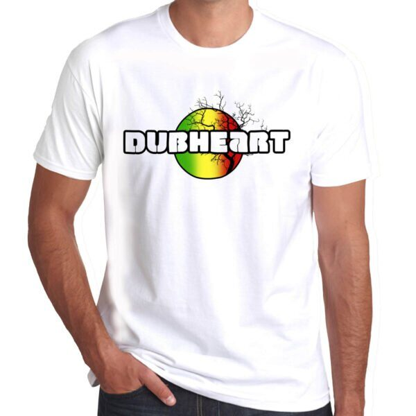 Wilkswood Reggae Festival | Dubheart T-Shirt | White