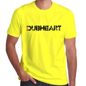 Wilkswood Reggae Festival | Dubheart Logo T-Shirt | Yellow