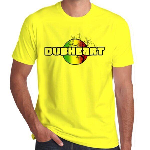 Wilkswood Reggae Festival | Dubheart T-Shirt | Yellow