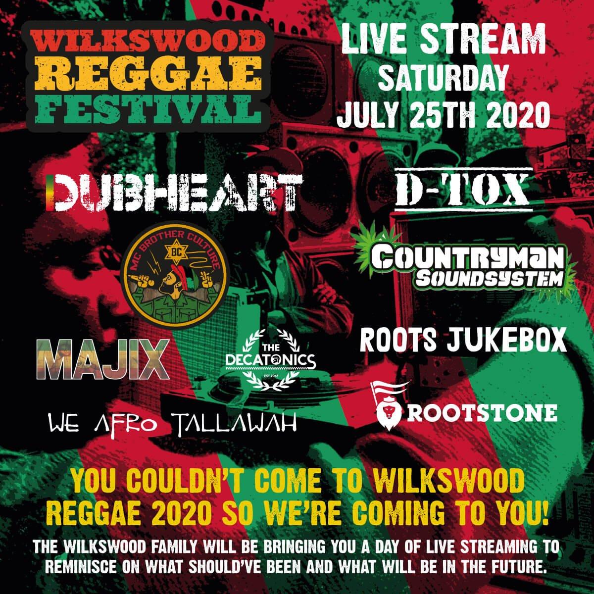 Wilkswood Reggae Festival Live Stream