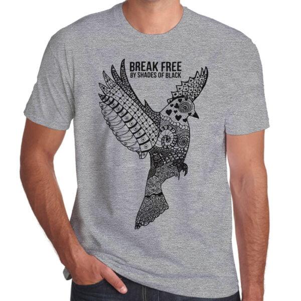 Brother Culture & Paul Fox | Break Free T-Shirt | Grey Marl