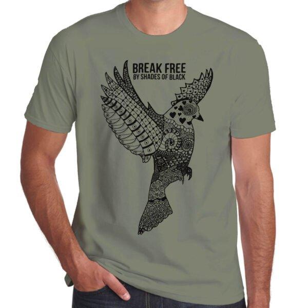 Brother Culture & Paul Fox | Break Free T-Shirt | Khaki