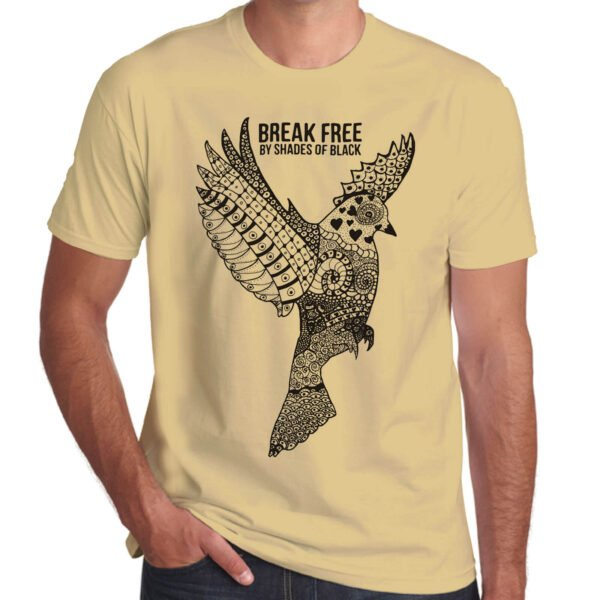 Brother Culture & Paul Fox | Break Free T-Shirt | Sand