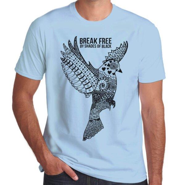 Brother Culture & Paul Fox | Break Free T-Shirt | Sky Blue