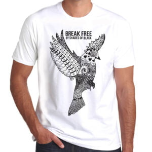 Brother Culture & Paul Fox | Break Free T-Shirt | White