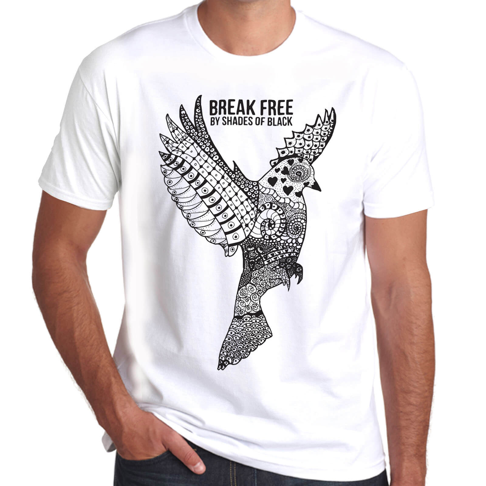 Brother Culture & Paul Fox | Break Free T-Shirt | White