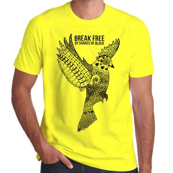 Brother Culture & Paul Fox | Break Free T-Shirt | Yellow