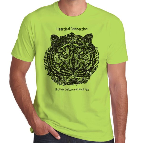 Brother Culture & Paul Fox | Heartical Connection T-Shirt | Lime Green