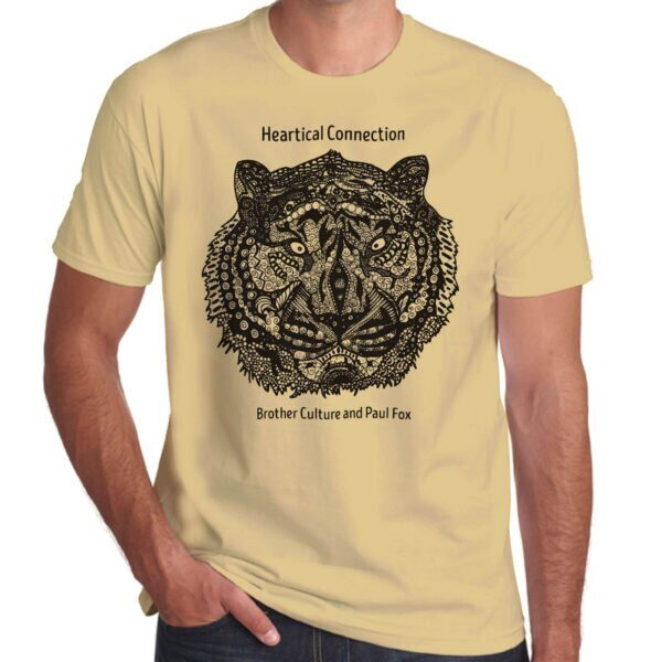 Brother Culture & Paul Fox | Heartical Connection T-Shirt | Sand