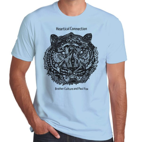 Brother Culture & Paul Fox | Heartical Connection T-Shirt | Sky Blue