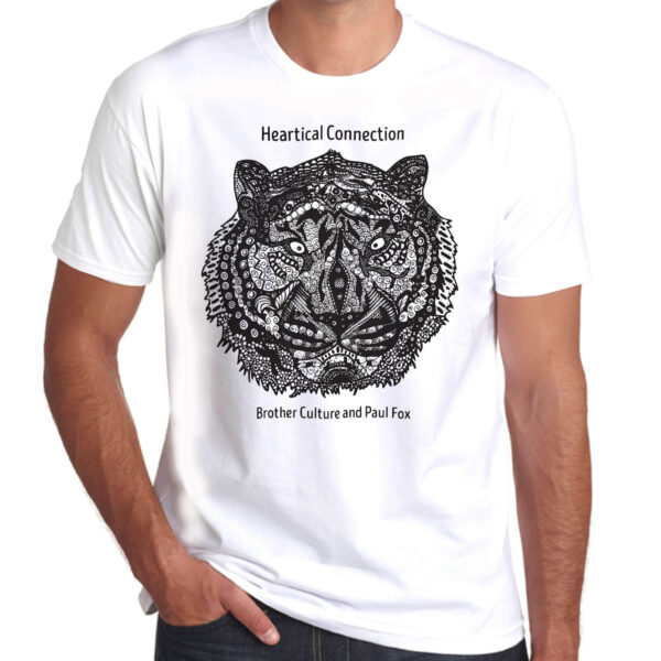Brother Culture & Paul Fox | Heartical Connection T-Shirt | White