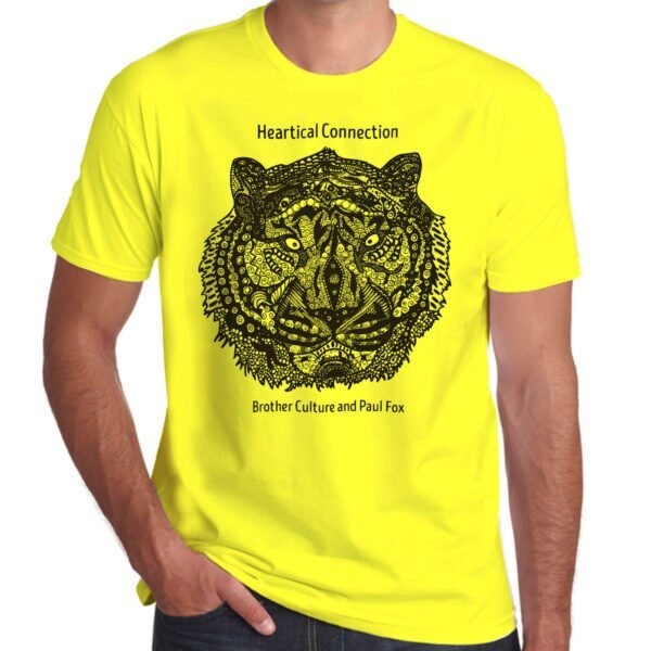 Brother Culture & Paul Fox | Heartical Connection T-Shirt | Yellow