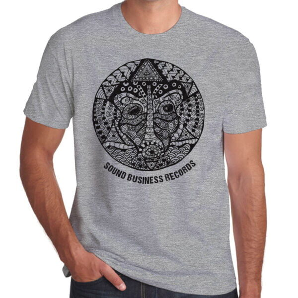 Brother Culture & Paul Fox   Sound Business T-Shirt   Grey Marl