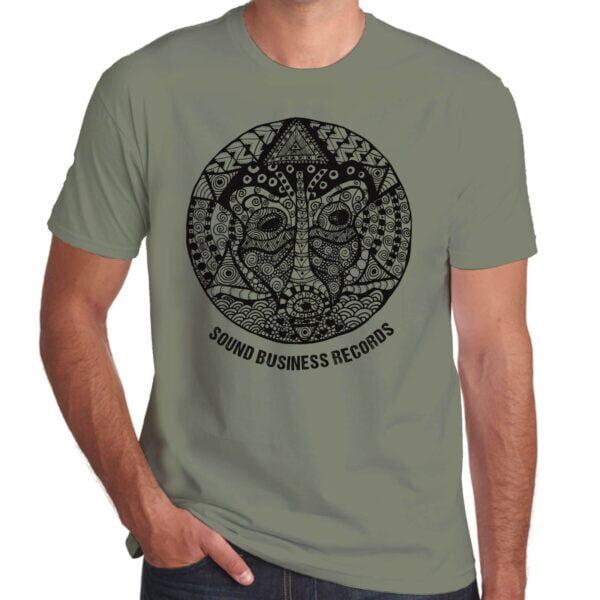 Brother Culture & Paul Fox   Sound Business T-Shirt   Khaki